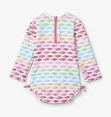 little girl hatley baby rashguard swimsuit