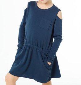 girl **sale** chaser cold shoulder hi-lo dress