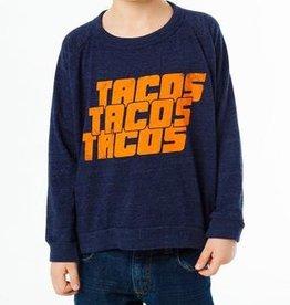boy chaser tacos! long sleeve tshirt