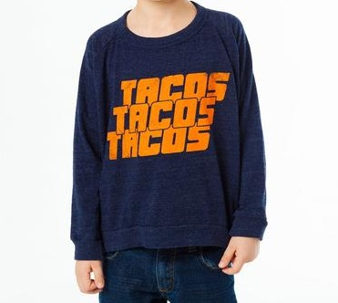 boy chaser tacos! long sleeve tshirt