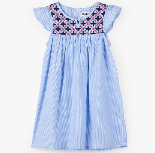 girl hatley embroidered dress