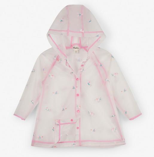 kid hatley swing rain coat