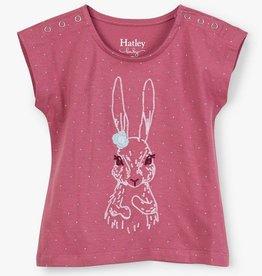 girl hatley bunny tee