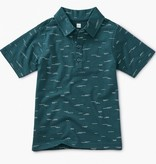 boy tea collection patterened polo