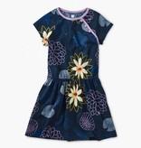 girl tea collection printed raglan dress