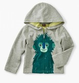 little boy tea collection langur zip baby hoodie