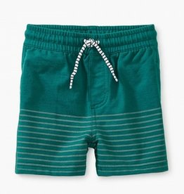 little boy tea collection half print baby shorts