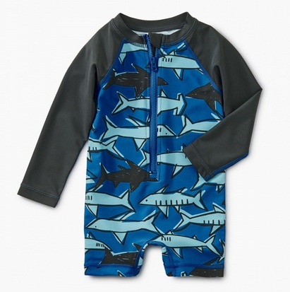 little boy tea collection rashguard onepiece