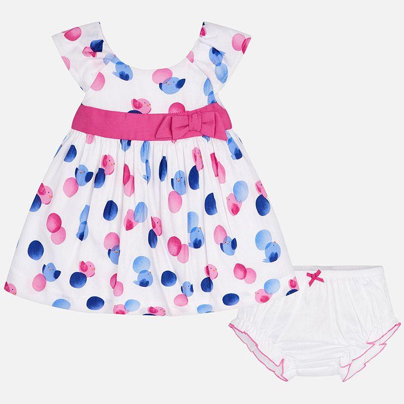 little girl mayoral dot dress