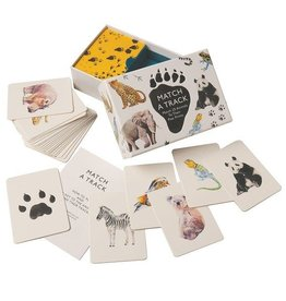 playtime match a track: match 25 animals to their paw prints