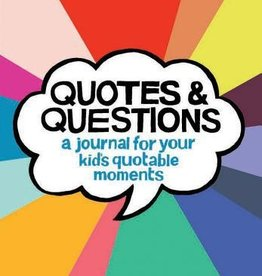 book quotes & questions: a journal for your kid's quotable moments