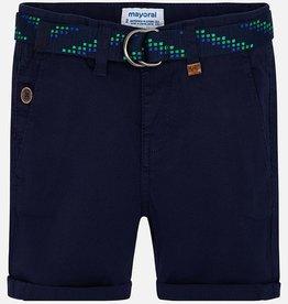 boy mayoral shorts with belt