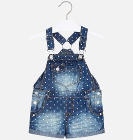 girl mayoral printed overalls