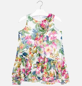 girl mayoral floral dress