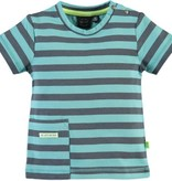 little boy babyface striped tshirt