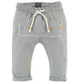 little girl babyface striped joggers