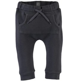 little boy babyface ribbed joggers