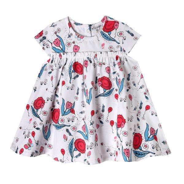 girl art + eden zander dress & short set