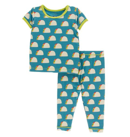 kid **sale** kickee pants ss pajama set