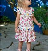 girl peas & queues isla dress