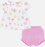 little girl mayoral 2 piece blouse set