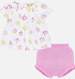 little girl mayoral 2 piece blouse set