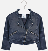 girl mayoral vegan leather jacket