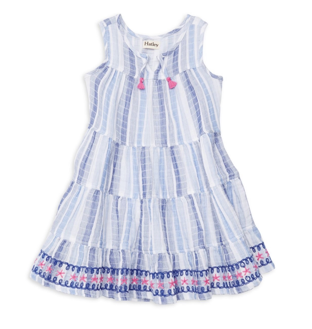 girl hatley tiered dress