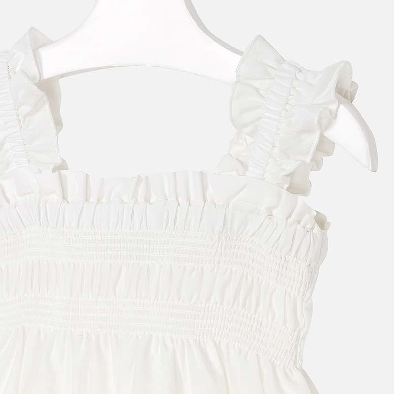 girl mayoral lace bottom dress