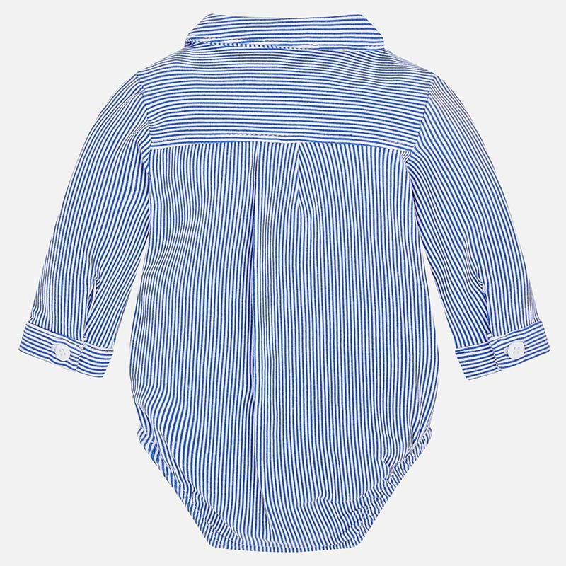little boy mayoral buttondown onesie