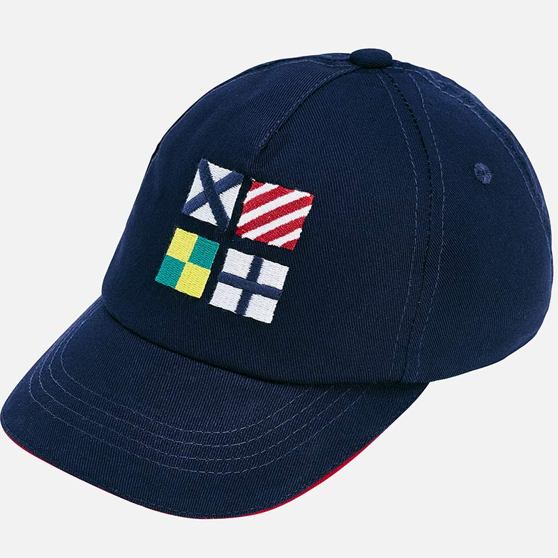 boy mayoral nautical cap