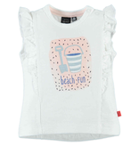little girl babyface flutter tank