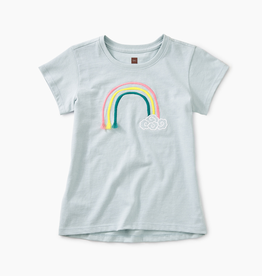 girl tea collection 3d rainbow graphic tee