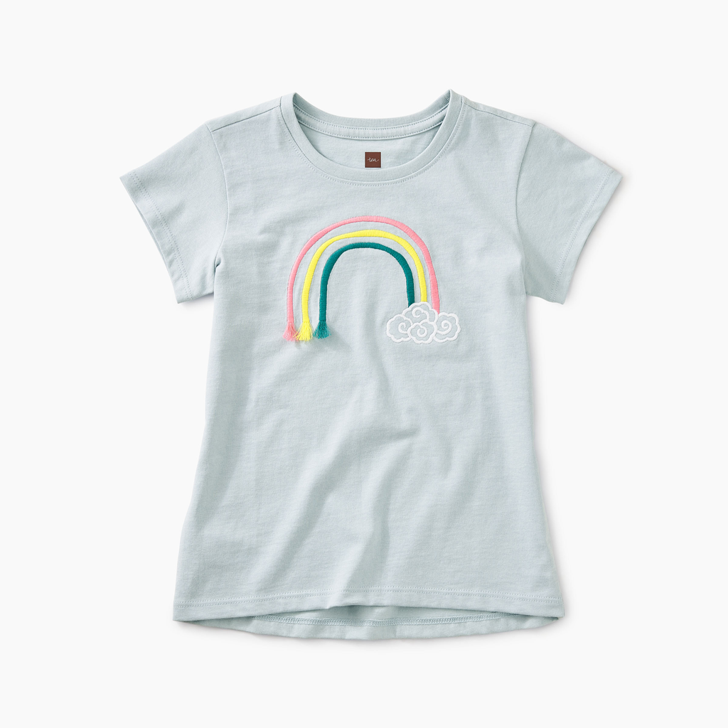 girl tea collection 3d rainbow graphic tee