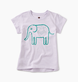 girl tea collection elephant graphic tee