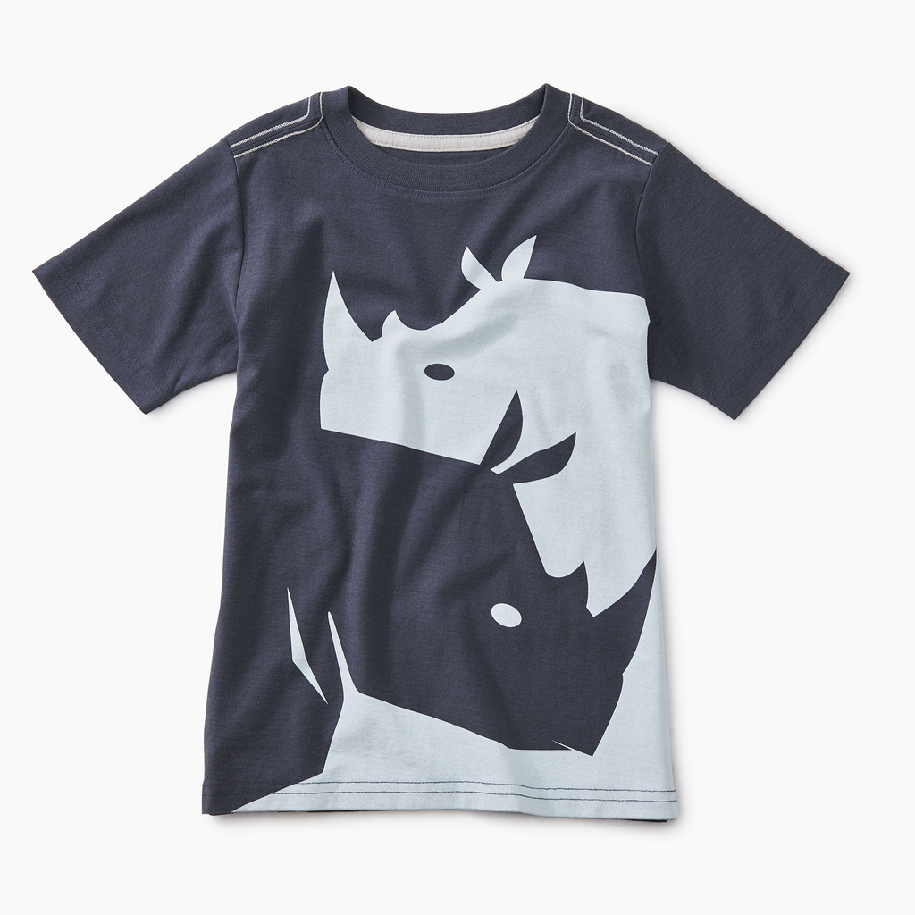 boy tea collection yin yang rhino graphic tee