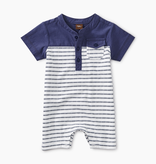little boy tea collection henley colorblocked romper
