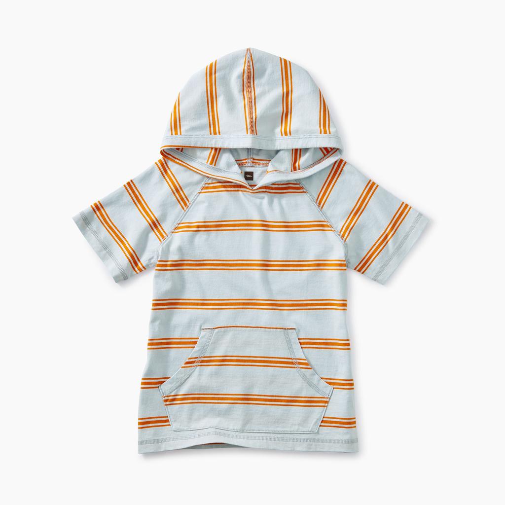 boy tea collection short sleeve happy hoodie