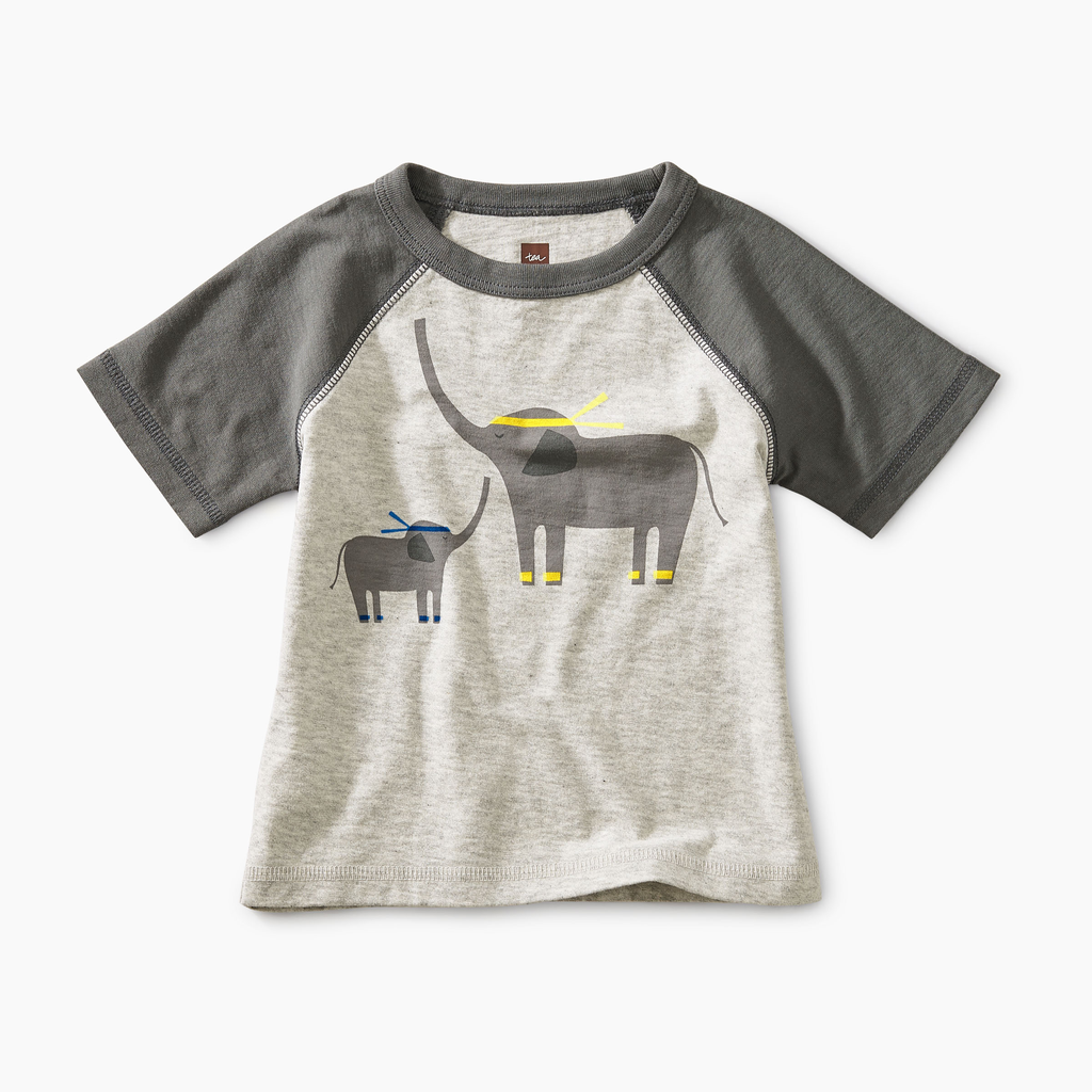 little boy tea collection martial arts elephant tee