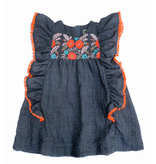 girl sophie catalou embroidered dress