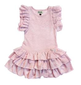 girl sophie catalou flutter sleeve dress