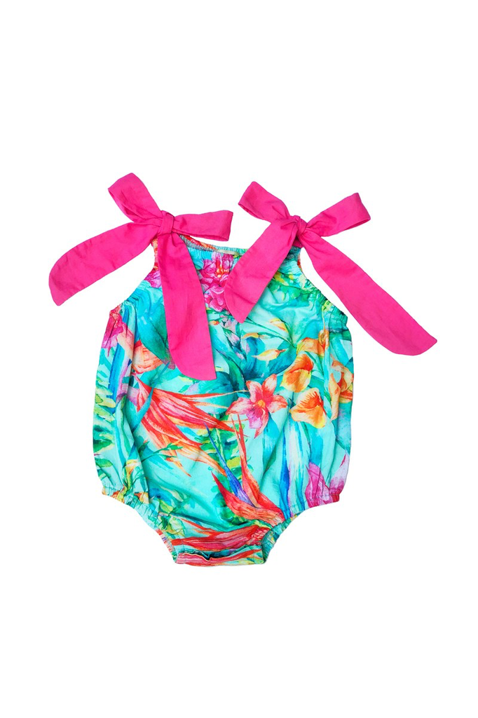 little girl sophie catalou bubble romper