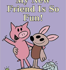 book my new friend is so fun, mo willems