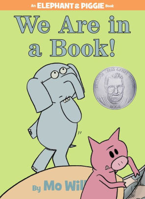 book we are in a book, mo willems