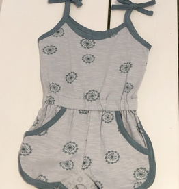 girl city mouse organic tank romper