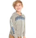 kid chaser zip hoodie