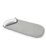 gear UPPAbaby bassinet mattress cover, heather grey