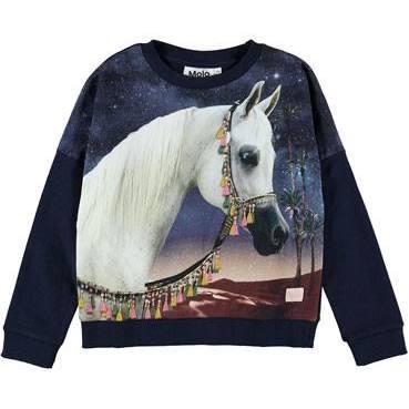 girl molo marigold sweatshirt