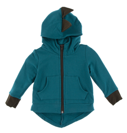 kid kickee pants dino fleece jacket