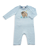 baby angel dear knit coverall